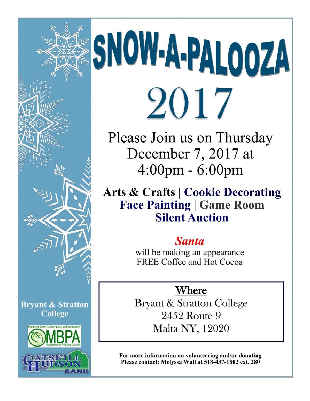 4th Annual Snow-A-Palooza