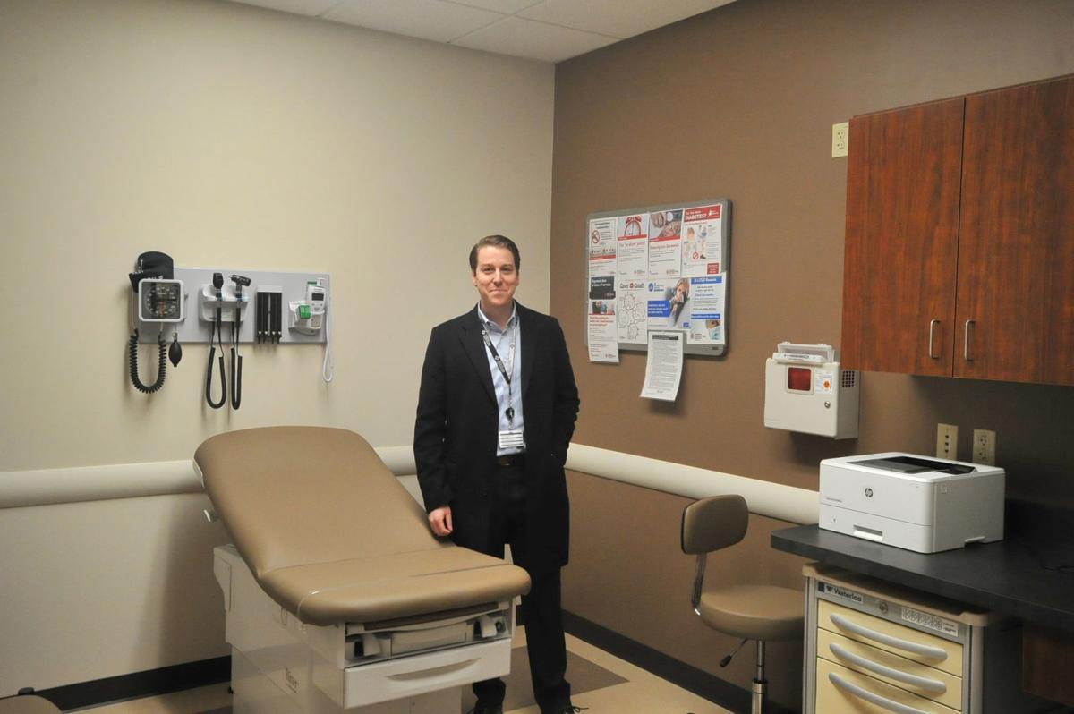 Moreau Family Health exam room