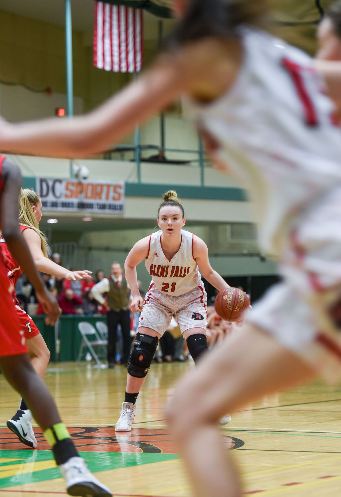Girls basketball -- Glens Falls vs. Tamarac (copy)