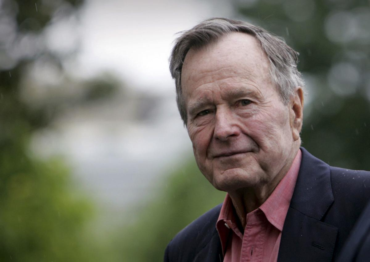 Obit George HW Bush