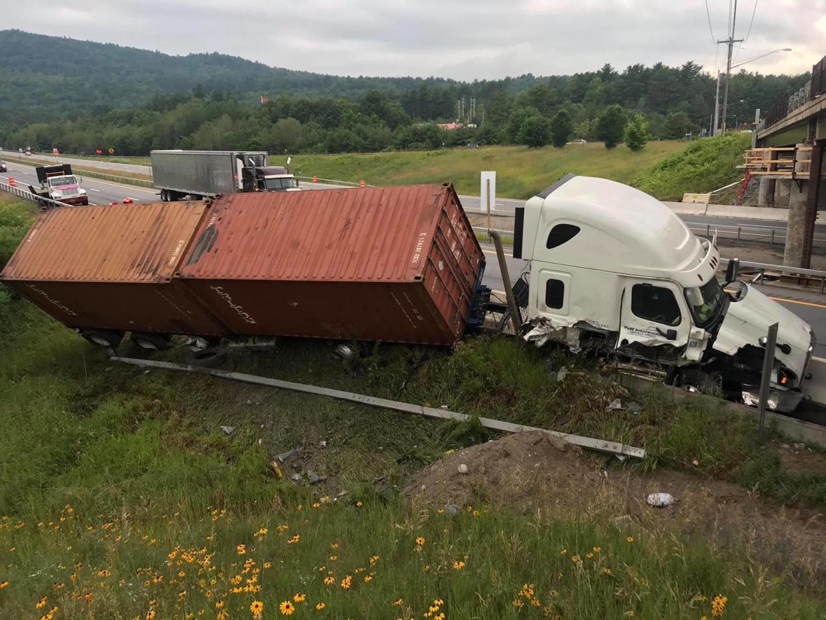Northway truck crash