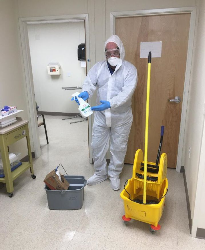 North Country Janitorial among businesses keeping busy during COVID-19 shutdown