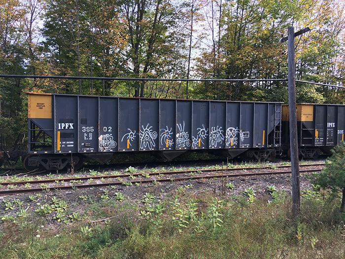 Rail car storage