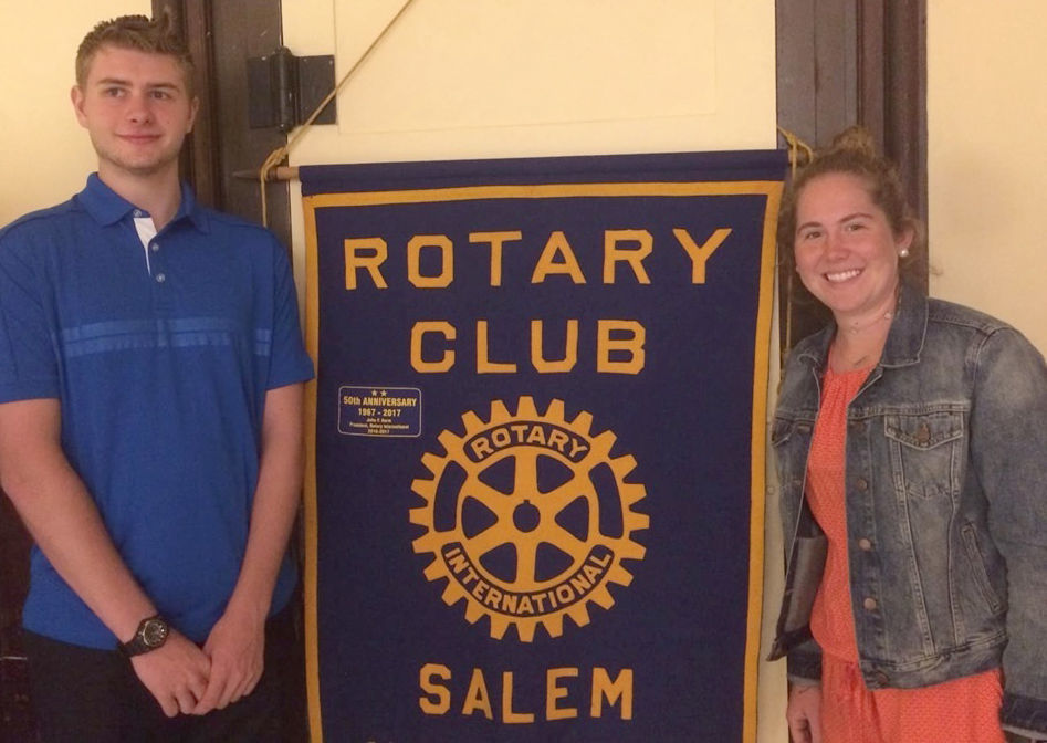 Salem students honored by Salem Rotary