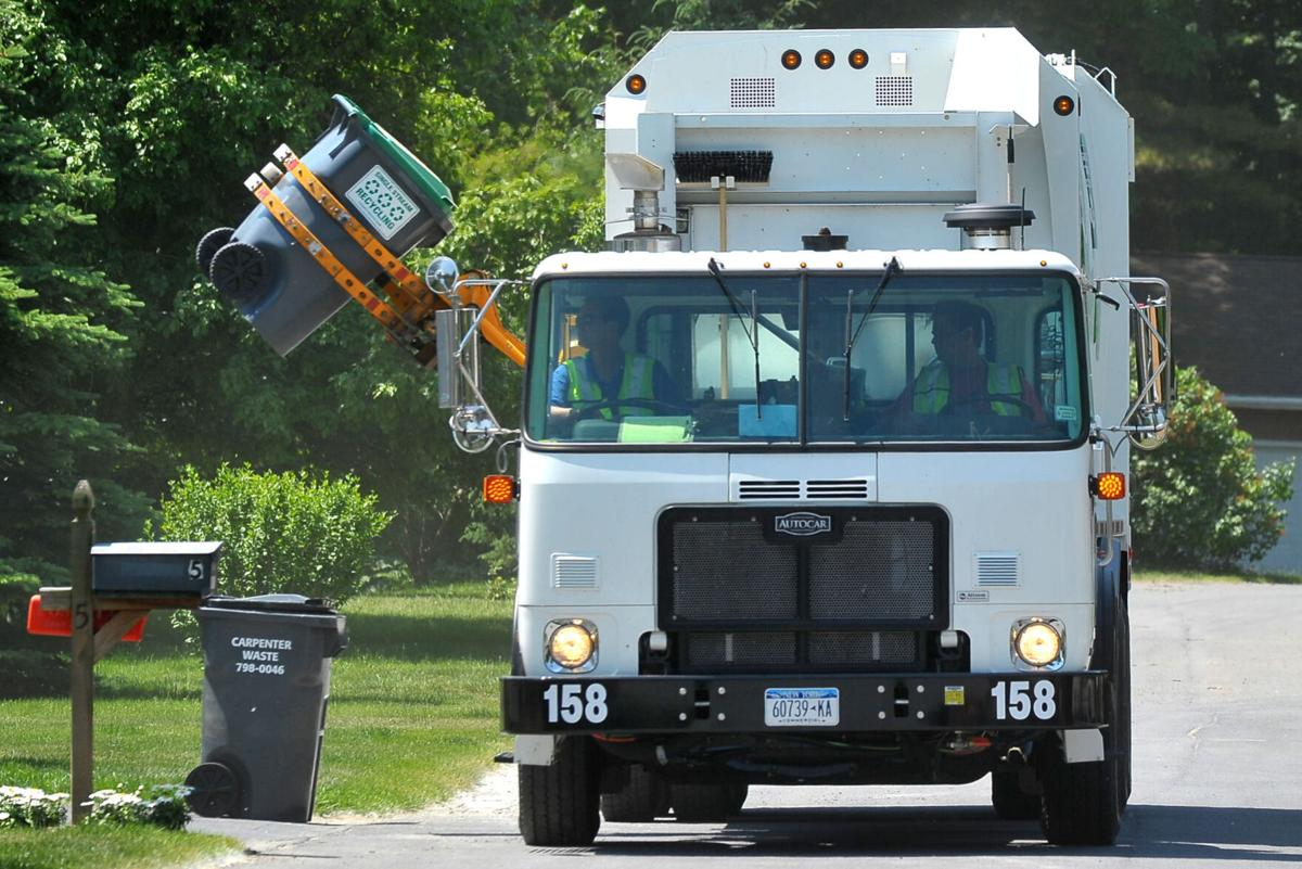Recyclables pickup