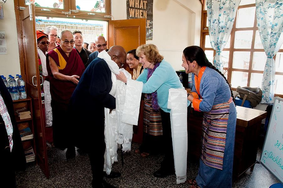 The Archbishop Desmond Tutu and His Holiness the Dalai Lama