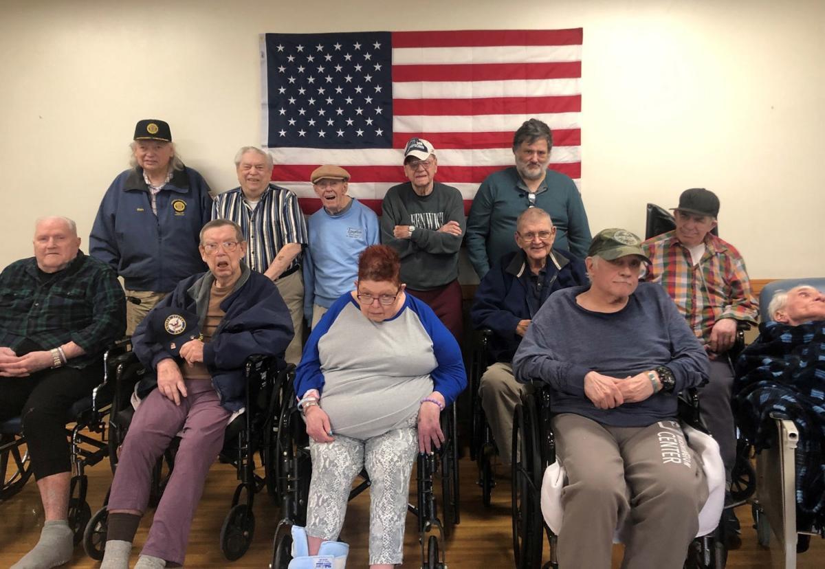 Washington Center salutes veterans
