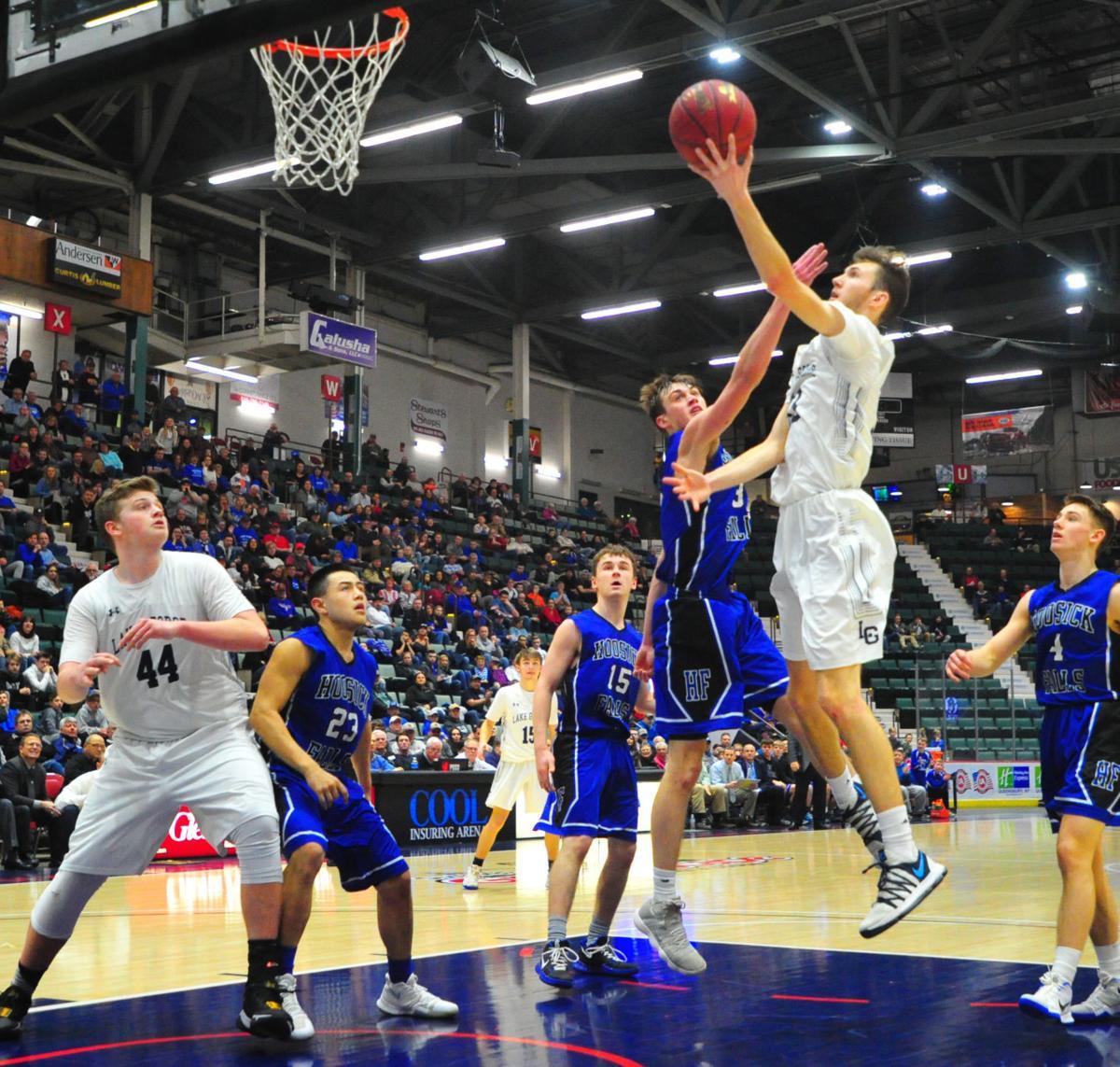 Lake George vs. Hoosick Falls boys basketball