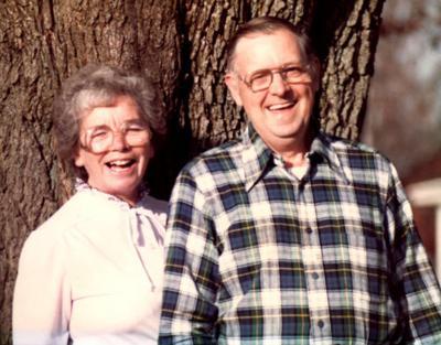 Gwendoline and Norman Hendrickson