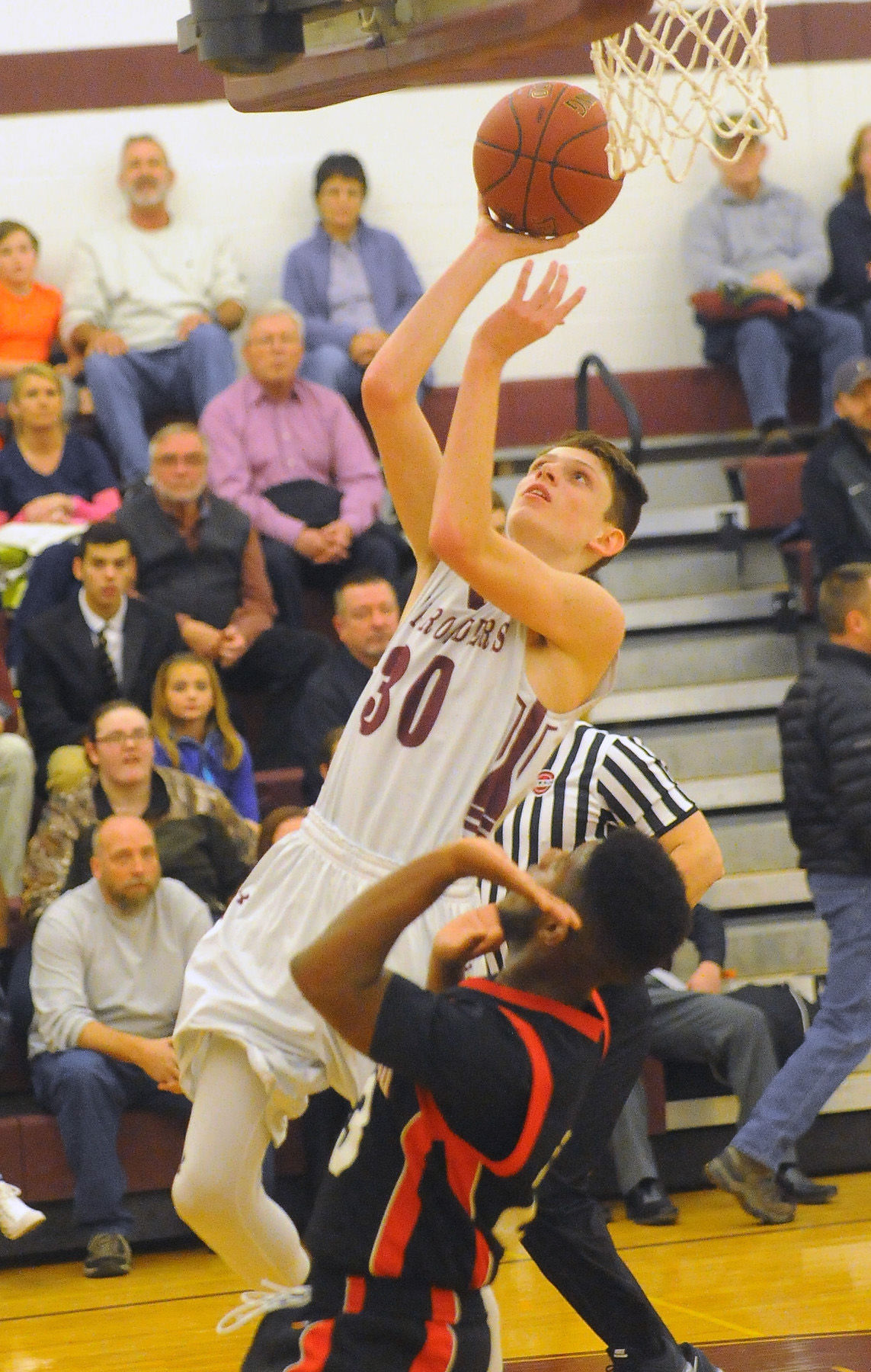 Whitehall vs. Hartford Boys Basketball