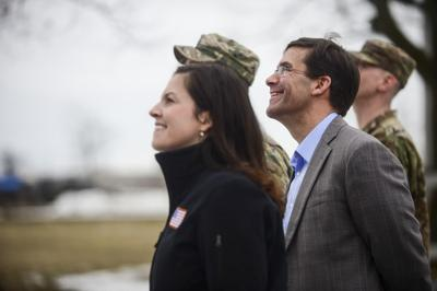 At Fort Drum, Army Secretary talks challenges balancing