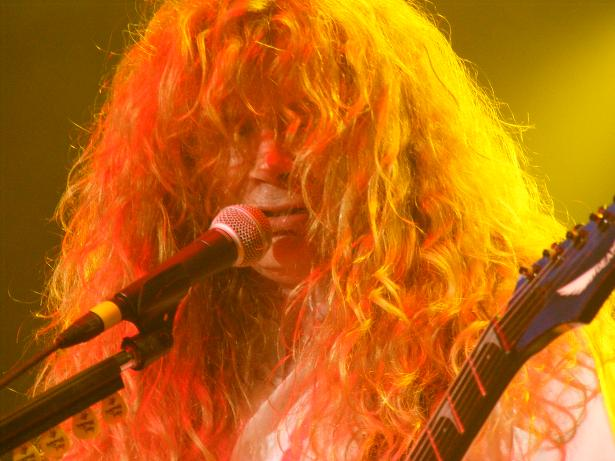 Megadeth - photo submitted by Doug Burgess