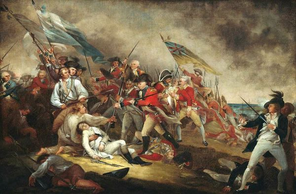 """""""The Death of General Warren at the Battle of Bunker's Hill, June 17, 1775"""""""