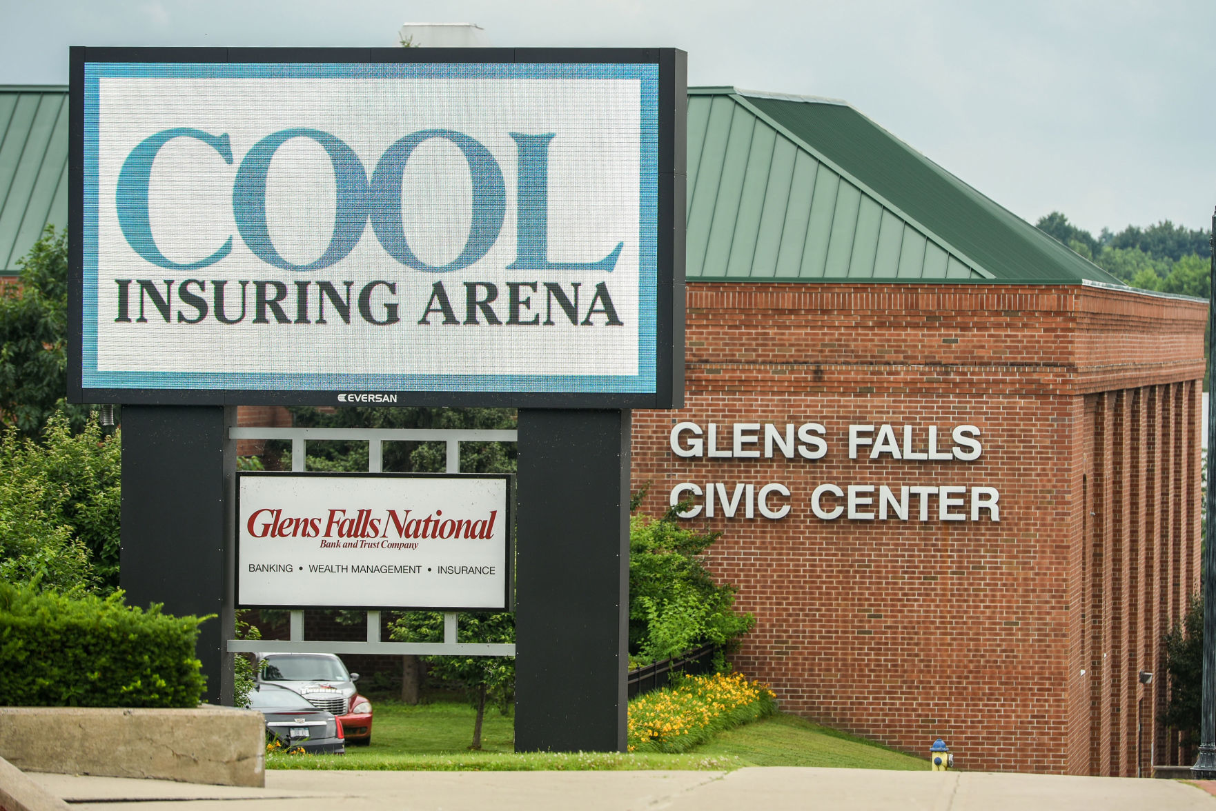 Civic Center Cool Insuring buys naming rights