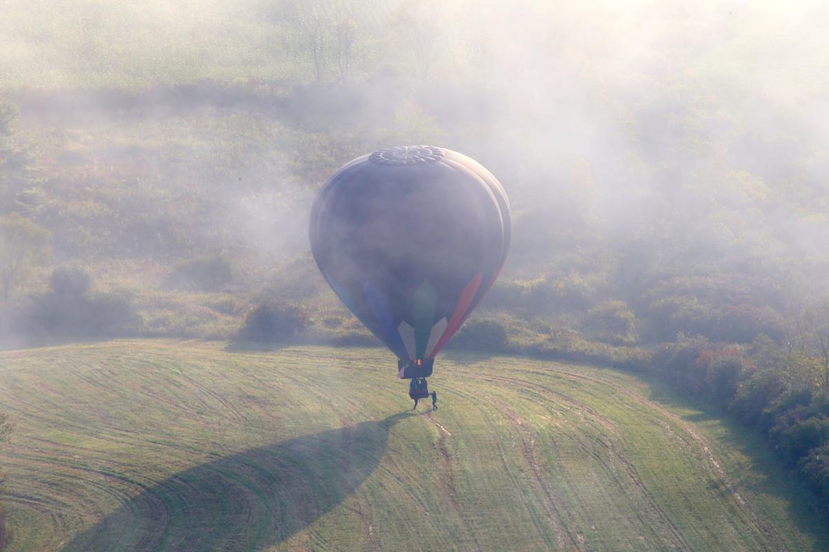 Adirondack Balloon Festival, Sunday morning