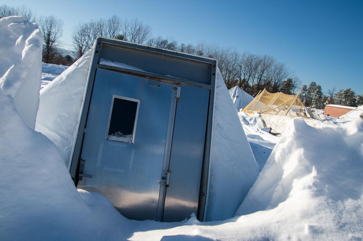 Adirondack Sports Complex dome collapsed