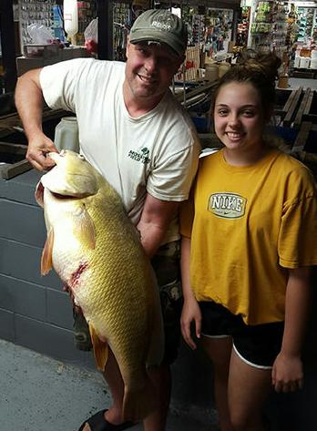 Record freshwater drum