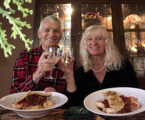 Couple celebrates 'virtual-versary'