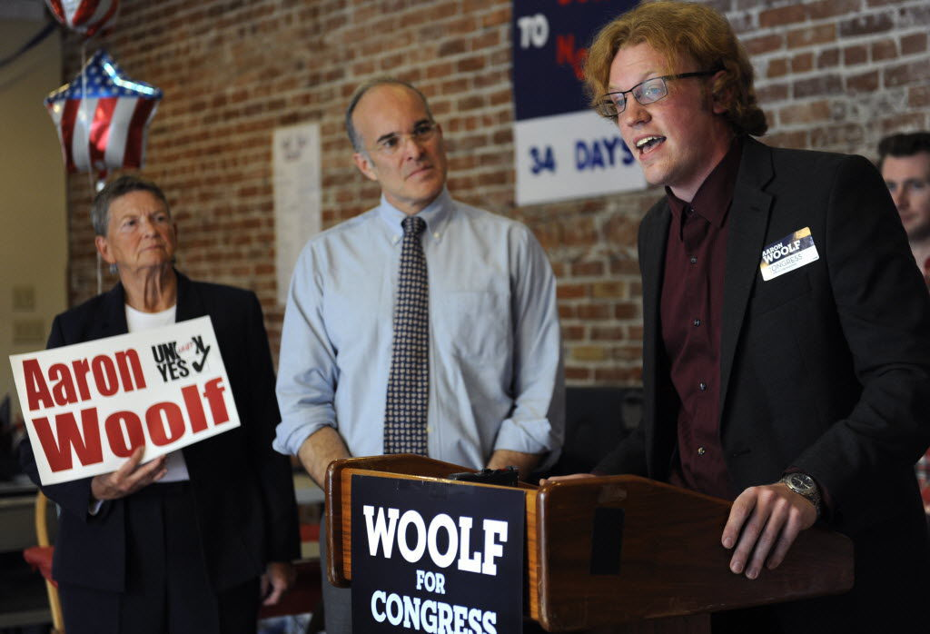 Patrick Nelson with Aaron Woolf