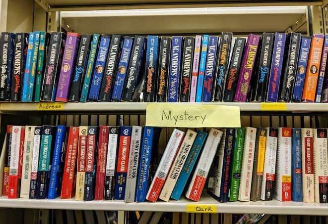 Crandall Public Library Book Sale