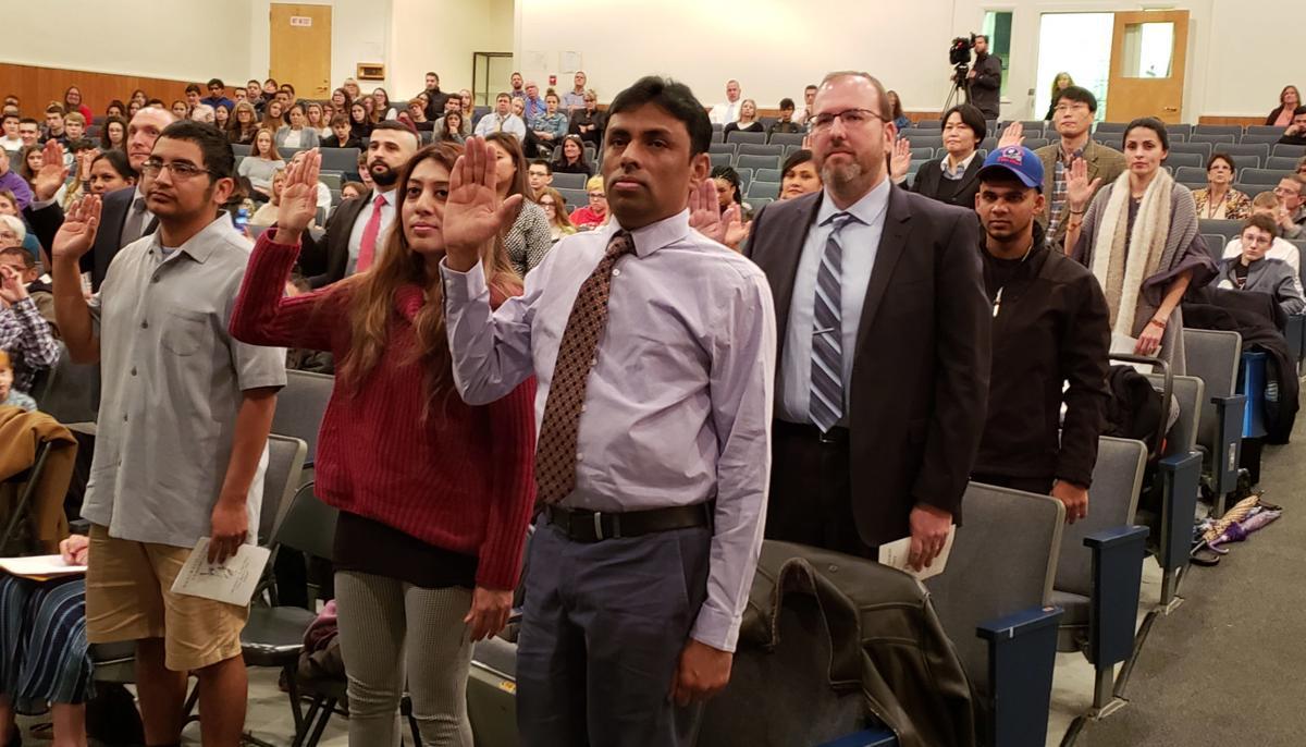 Twenty become U.S. citizens in Lake George