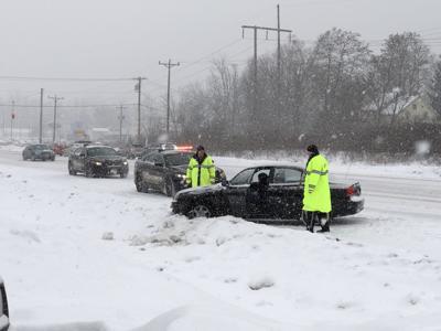 Quaker road snow crash