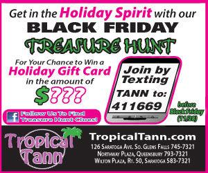 Tropical Tann Black Friday Treasure Hunt