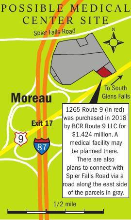 Medical center site map
