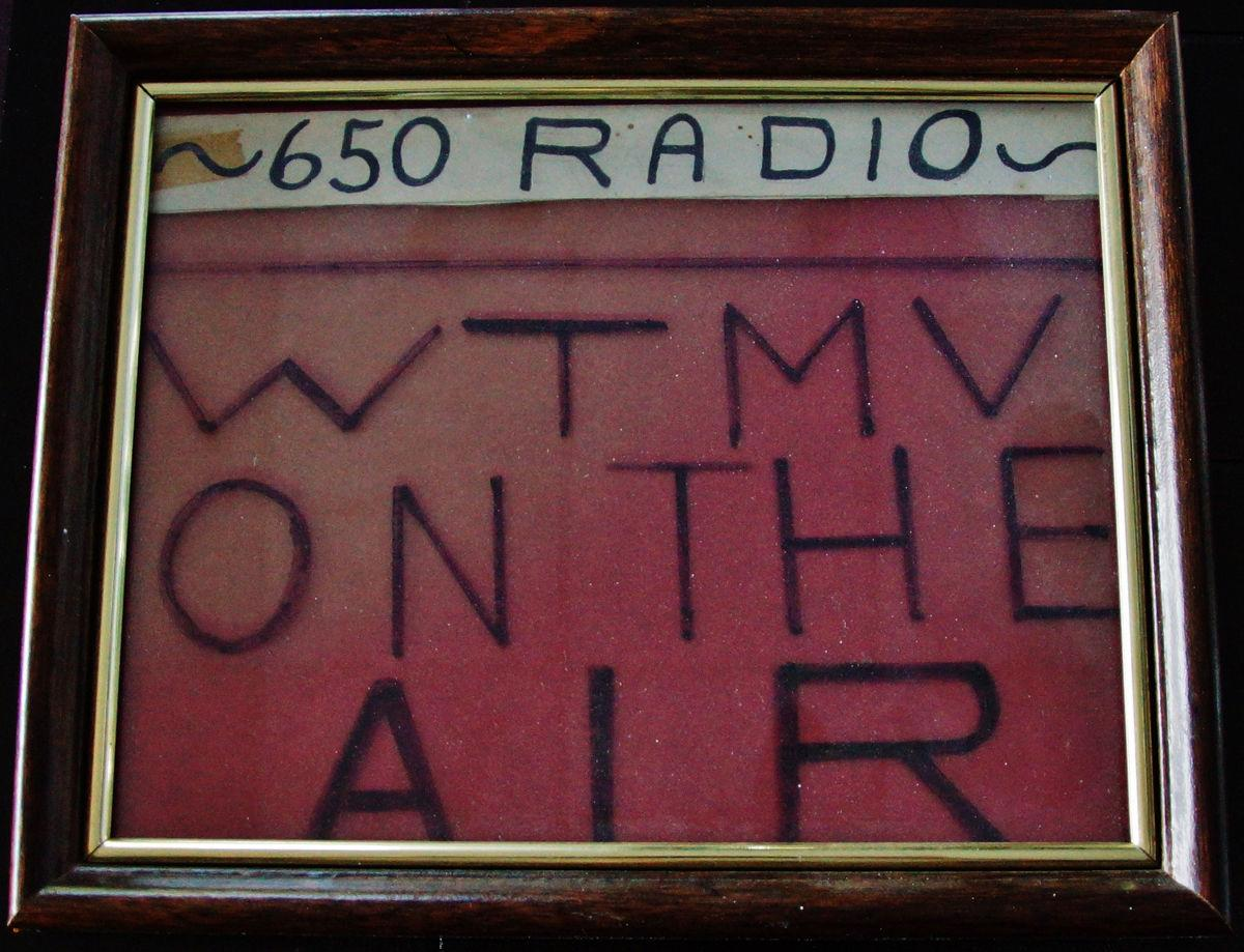 WTMV On Air Sign
