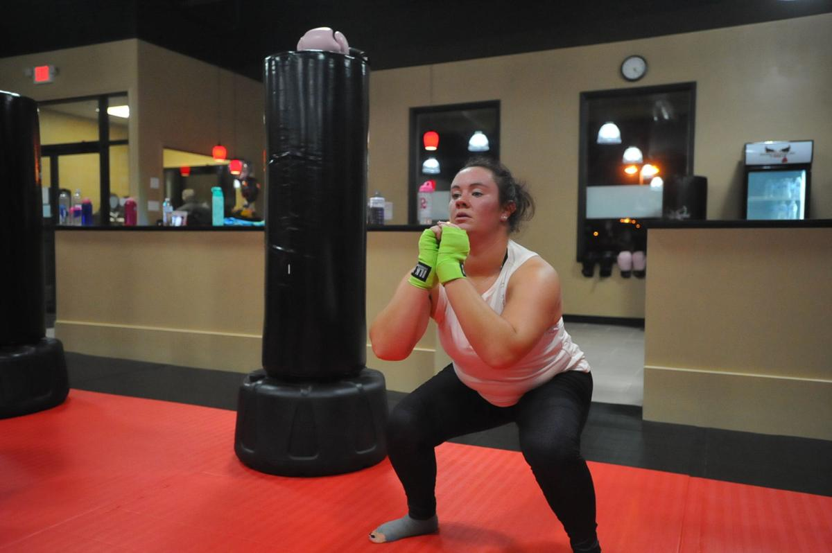Kickboxing studio
