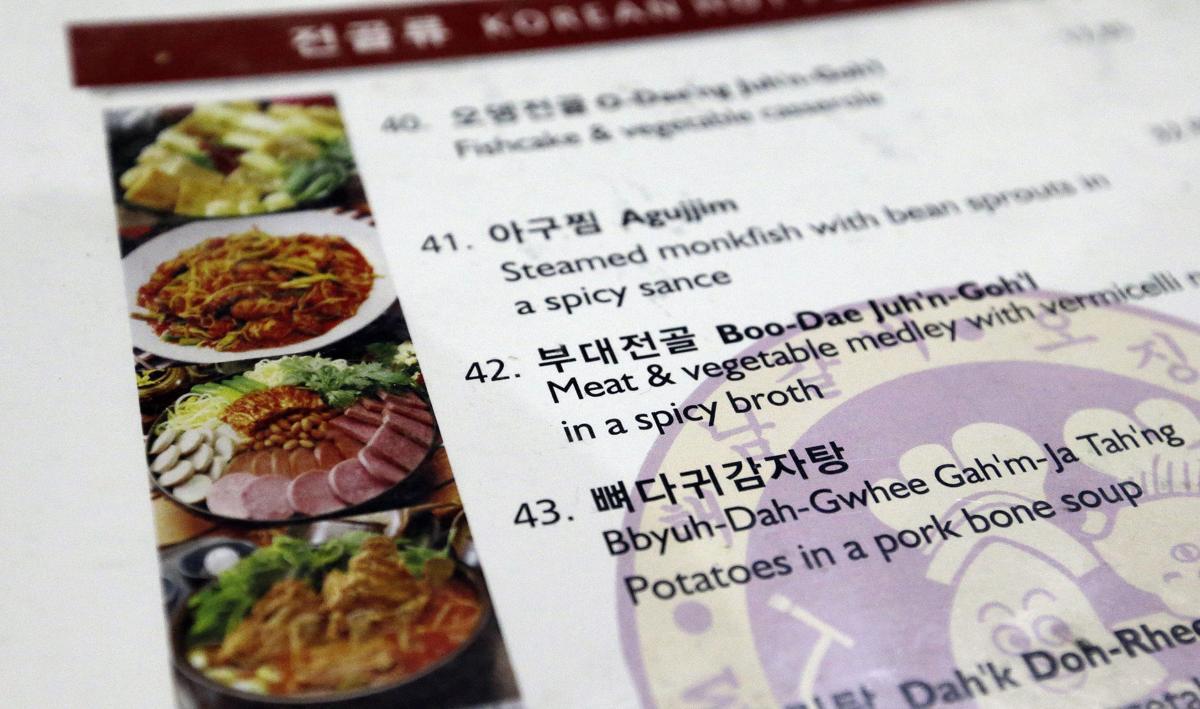Korean Food GI Influences