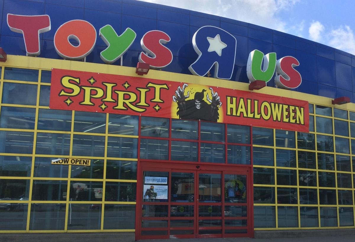 Spirit Halloween at old Toys R Us store