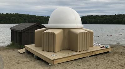 Telescope at Moreau Lake State Park