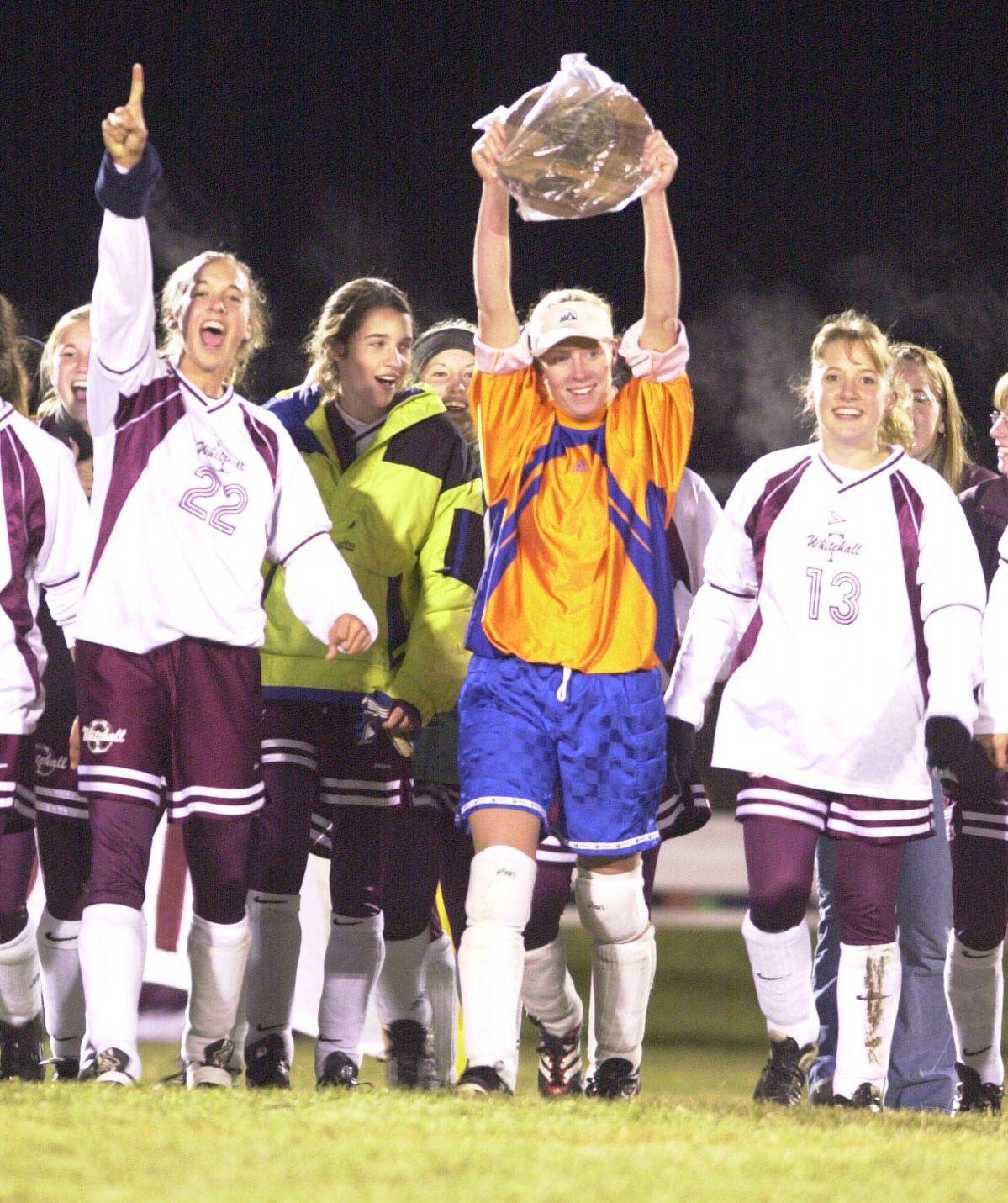 2001 Whitehall girls soccer