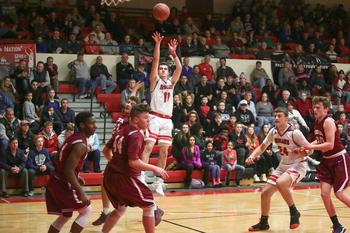 Scotia at Glens Falls boys basketball