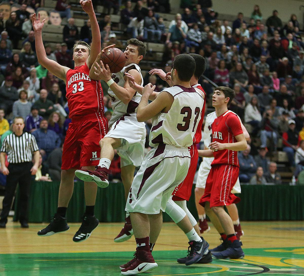 Boys basketball -- Argyle vs. Moriah