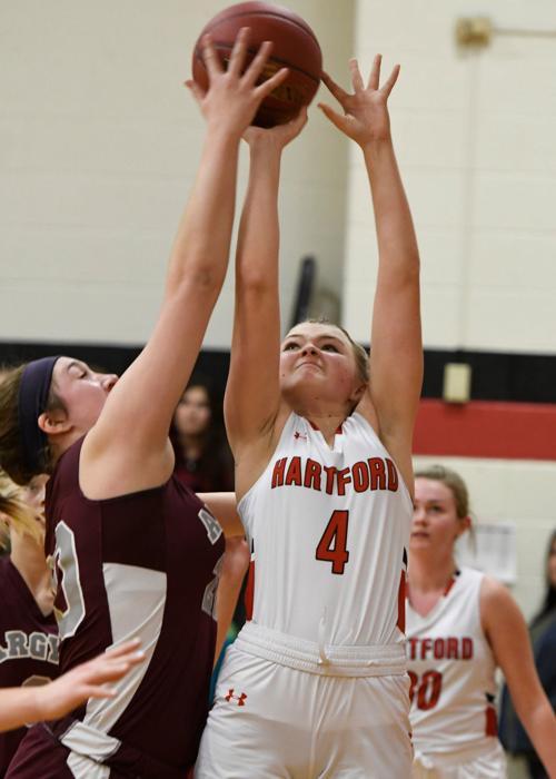 Girls Basketball: Argyle at Hartford