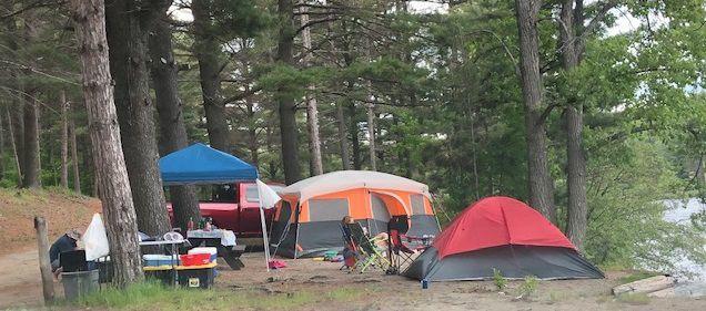 Adk camping