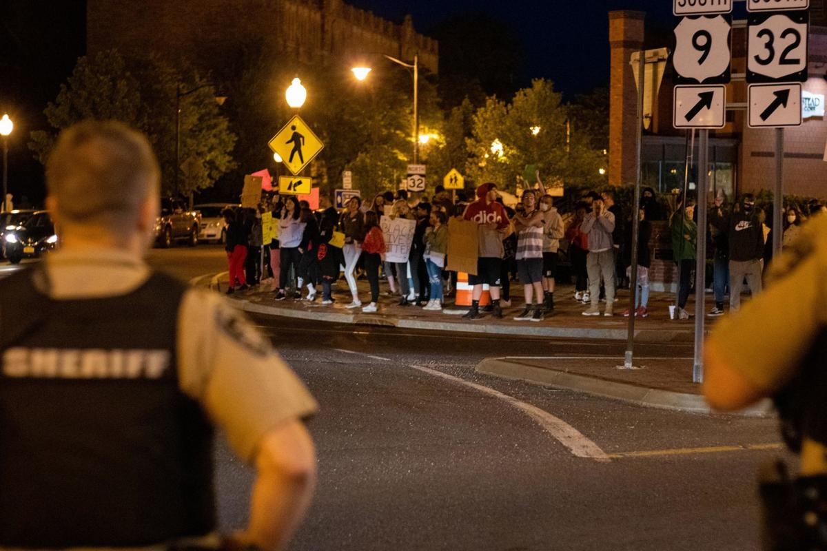 Glens Falls protests