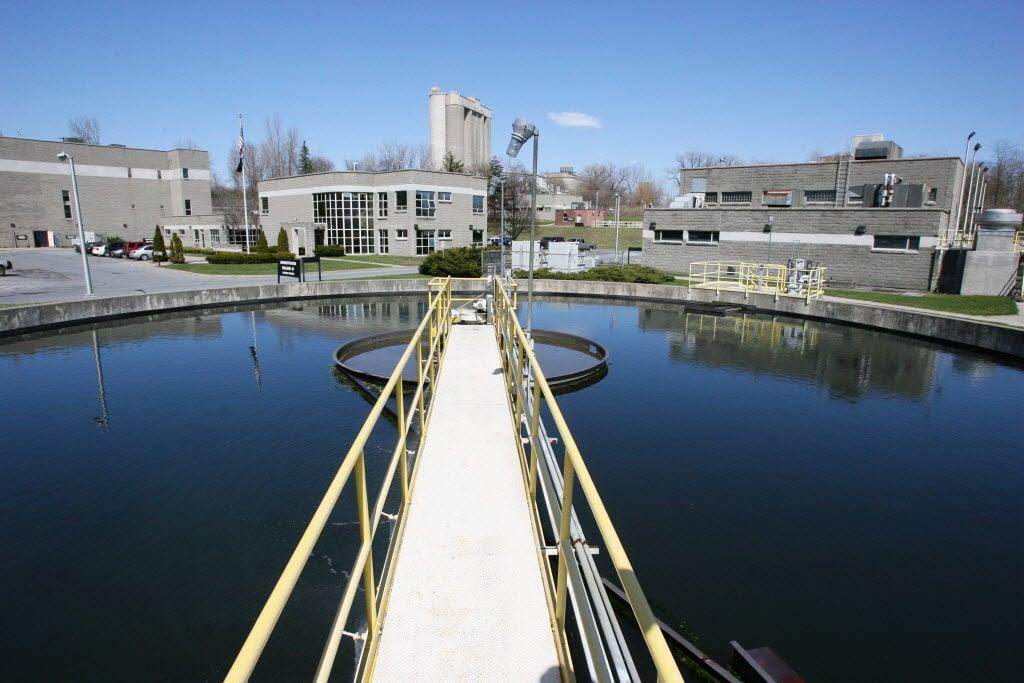 Glens Falls wastewater treatment