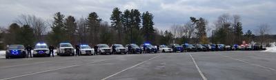 Cops' cars