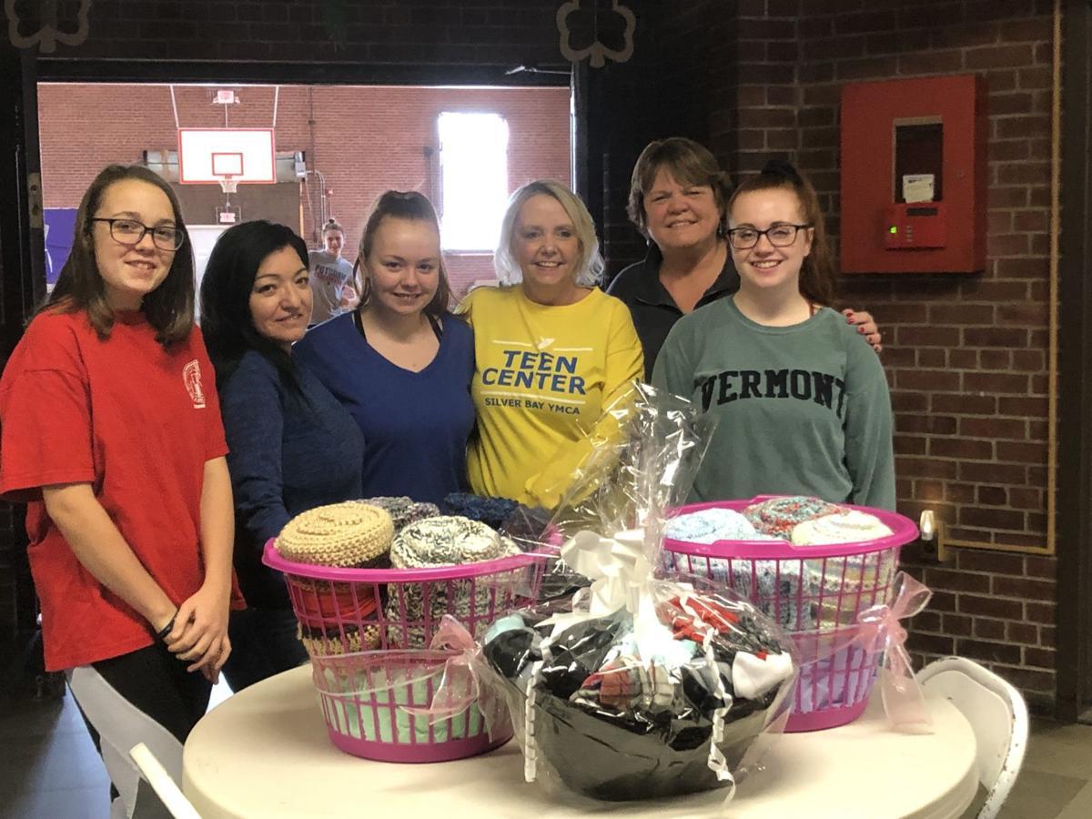Silver Bay YMCA teens donate blankets