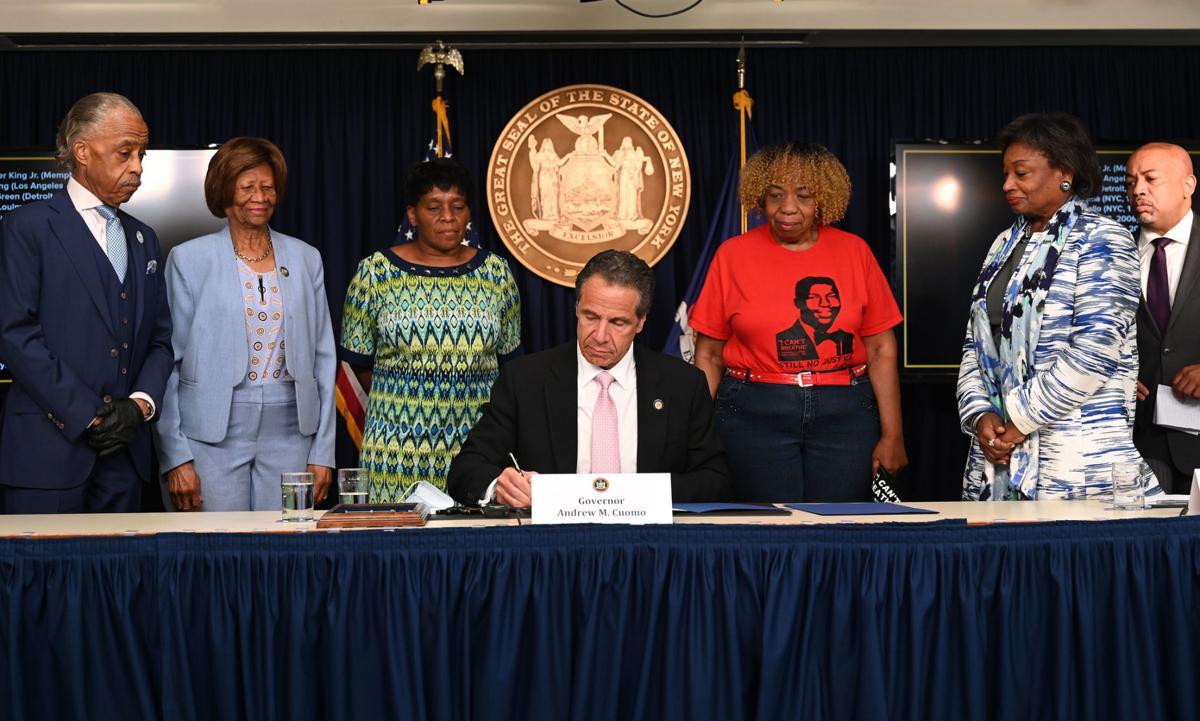 Cuomo signs police accountability legislation