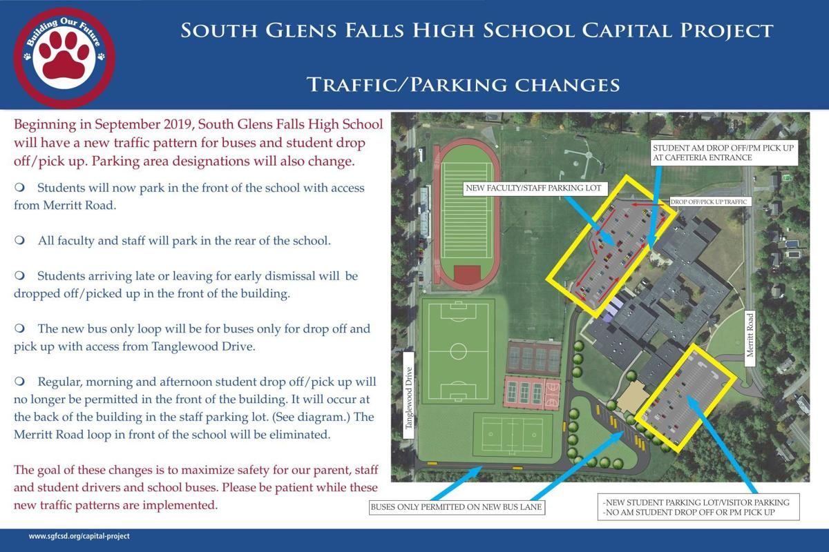 South Glens Falls traffic pattern