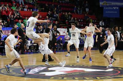 Lake George boys basketball state title