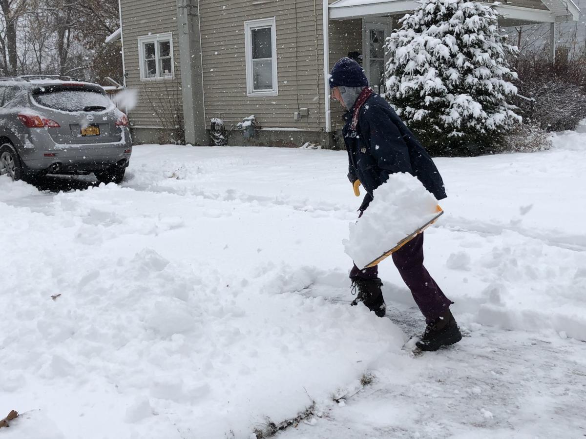 Glens Falls shoveling