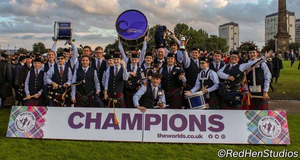 Pipe band wins world championships