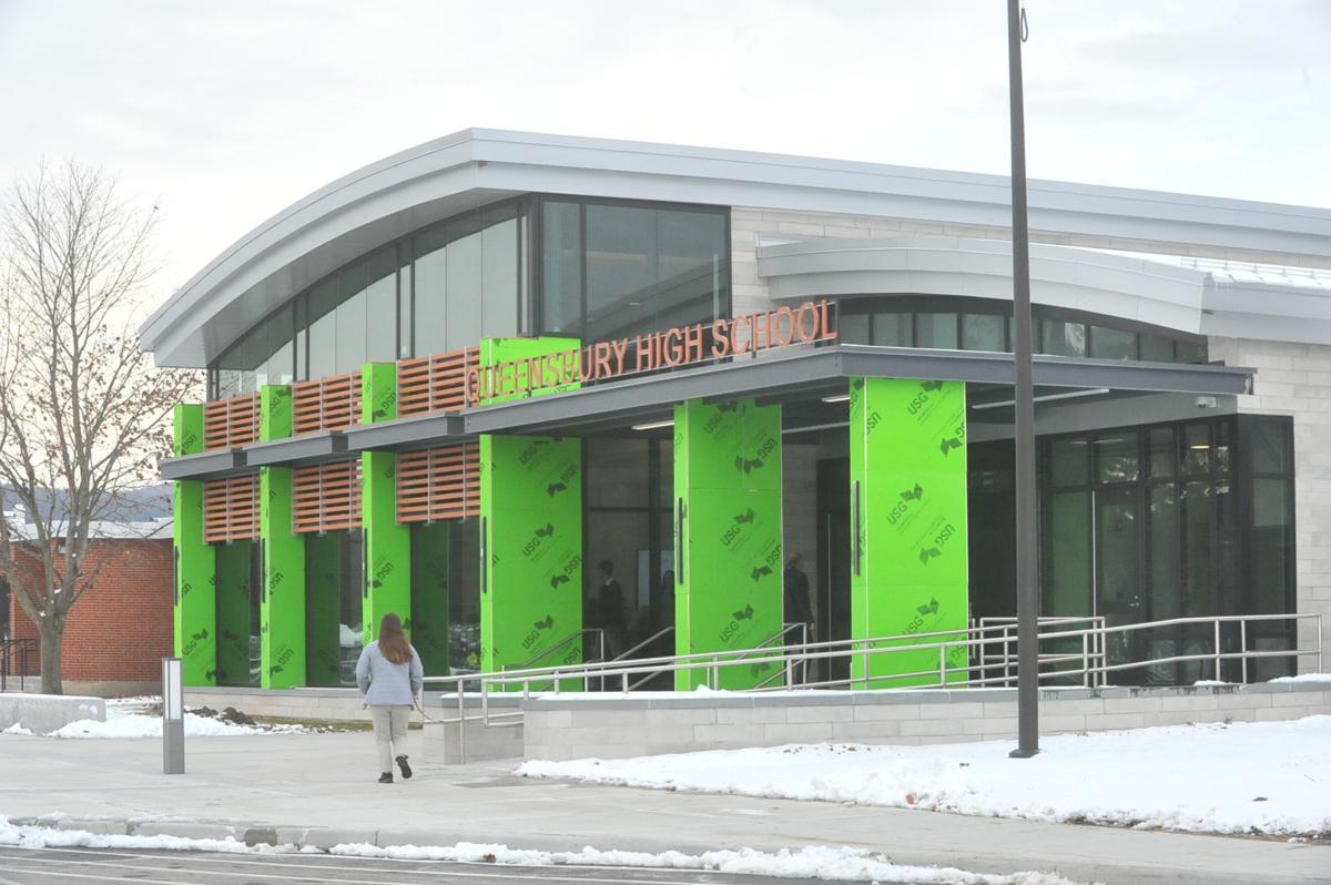 Queensbury High School renovation project