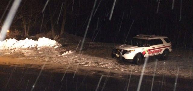Fatal snowbank