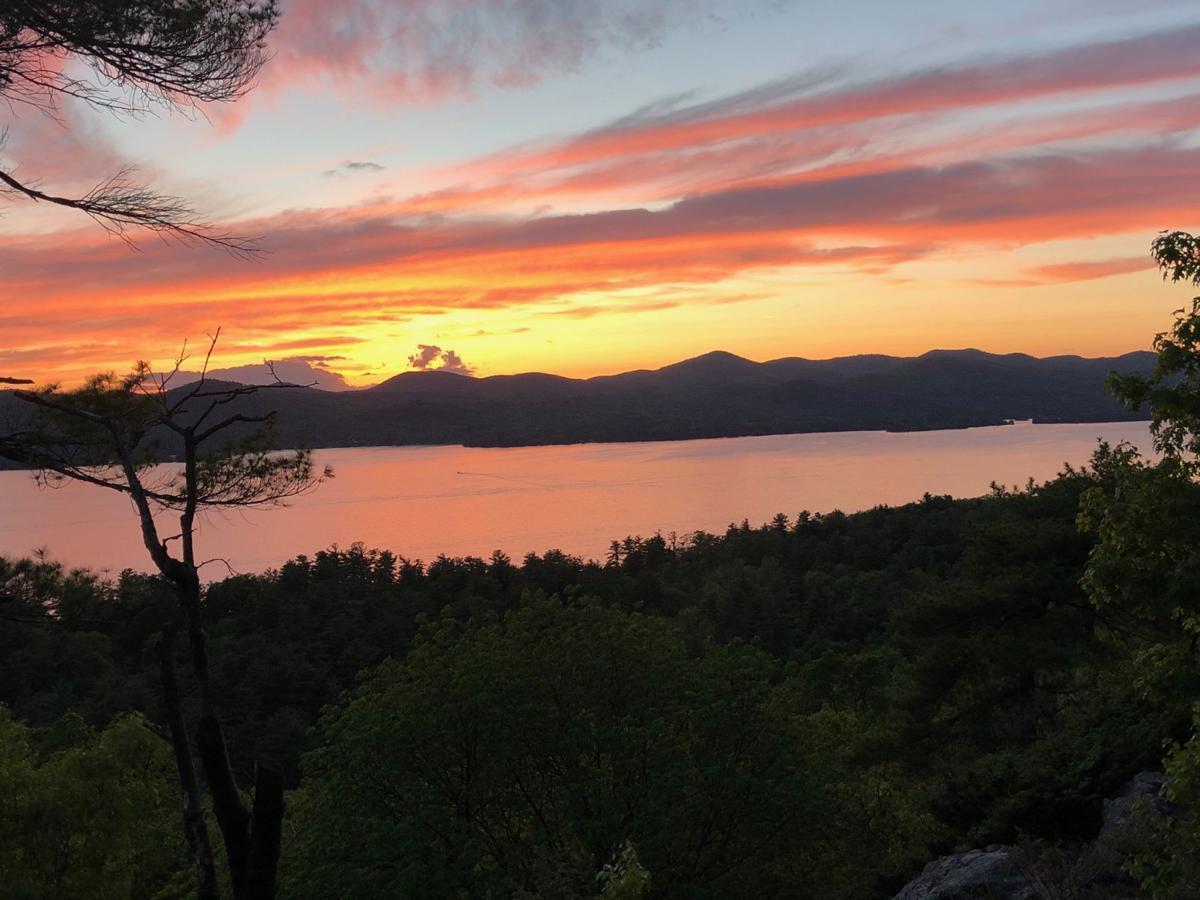 Stewart Ledge sunset